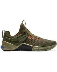 619e2b858c4 Lyst - Nike Free X Metcon Training Shoe – Mens in Green for Men