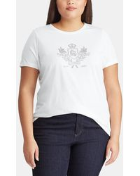 Denim & Supply Ralph Lauren - Plus Size Short Sleeve Crew Neck T-shirt - Lyst