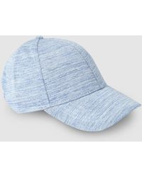 El Corte Inglés - Wo Blue Cotton Jersey Cap - Lyst