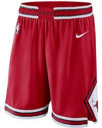 Nike - Chicago Bulls 2017-2018 Icon Edition Bermuda Shorts - Lyst