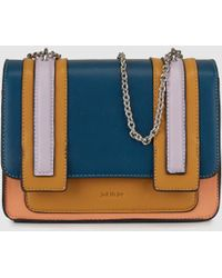 Jo & Mr. Joe | Art Brut Small Multicoloured Crossbody Bag With Flap | Lyst