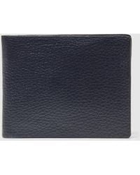 El Corte Inglés - Mens Black Wallet With Two Note Compartments - Lyst