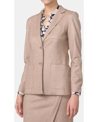 Mirto - Wool Jacket With Two Pockets - Lyst