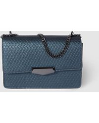 c4fa7f62ea El Corte Inglés - Wo Petrol Blue Crossbody Bag With Diamond Embossing - Lyst