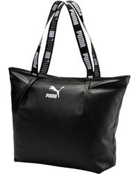 Lyst - Puma Cartel 2.0 Tote Bag in Metallic 6dc6c87e86cc5