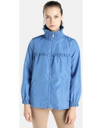 Yera - Lightweight Parka With Frill On The Chest - Lyst