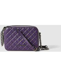 Gloria Ortiz - Nadine Purple Leather Mini Crossbody Bag - Lyst