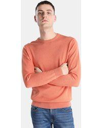 Green Coast - Orange Jumper With A Round Collar - Lyst