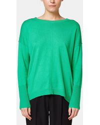 Esprit - Oversized Boat Neck Sweater - Lyst