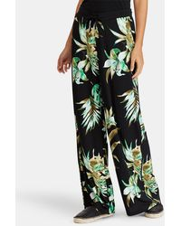 Lauren by Ralph Lauren - Polo Ralph Lauren Floral Print Loose-fit Trousers - Lyst