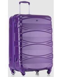 Gloria Ortiz - Large Purple 90l Hard-sided Suitcase - Lyst