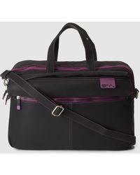 Caminatta - Black Briefcase With Zip - Lyst