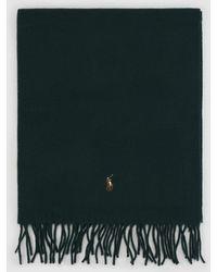 Polo Ralph Lauren - Plain Wool Scarf - Lyst