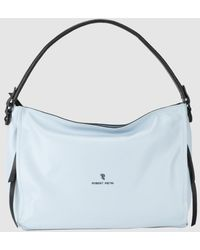 97d812c6482 Lacoste Sky Blue Tote Bag With The Brand Logo in Blue - Lyst