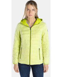 indi & cold - Short Green Puffer Coat - Lyst