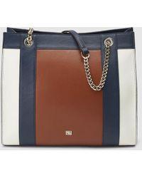 Lyst - Burberry Prorsum Mini Bee Colour-Block Leather Cross-Body Bag ... 64659d72e0d2e