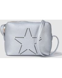 Green Coast - Wo Silver Crossbody Bag With Star Detail - Lyst