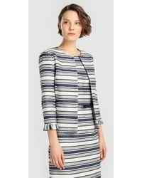 Yera - Striped Jacket With Lurex - Lyst