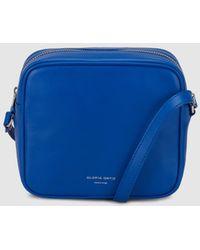 Gloria Ortiz - Miriam Blue Nappa Leather Mini Crossbody Bag - Lyst