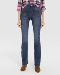 Green Coast - Bell-bottom Jeans With Front Pockets - Lyst
