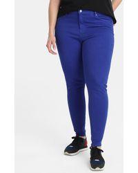 Denim & Supply Ralph Lauren - Plus Size Blue Skinny Jeans - Lyst
