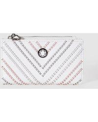 Caminatta - Wo Medium White Wallet With Zip - Lyst