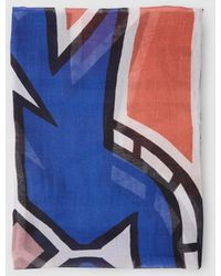 Gloria Ortiz - Multicoloured Print Foulard - Lyst