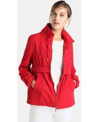 Yera - Red Hooded Parka - Lyst