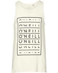O'neill Sportswear - Oneill Lm Block Type T-shirt - Lyst