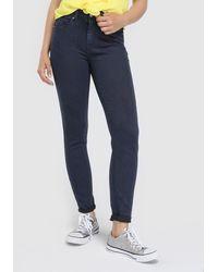 Green Coast - Navy Blue Skinny Jeans - Lyst