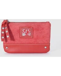 Caminatta - Wo Combined Red Purse - Lyst