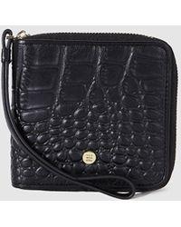 Gloria Ortiz - Adrienne Small Black Leather Wallet - Lyst