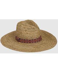 Gloria Ortiz - Wo Natural-coloured Fabric Hat - Lyst