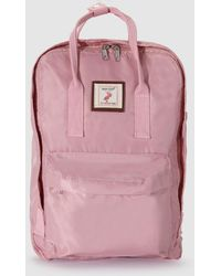 Green Coast - Pink Backpack With Patch - Lyst