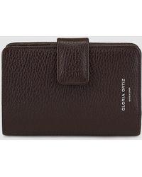 Gloria Ortiz - Adele Chocolate Brown Leather Wallet - Lyst