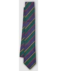 Polo Ralph Lauren - Multicoloured Striped Silk Tie - Lyst