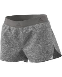 adidas - 1/4 Two-in-one Shorts - Lyst