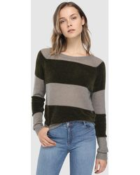 indi & cold - Long Sleeve Striped Jumper - Lyst