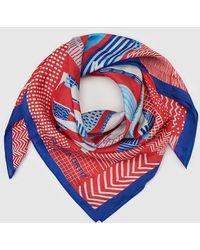 Gloria Ortiz - Printed Silk Handkerchief - Lyst
