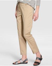 Zendra El Corte Inglés - Pantalón Capri De Mujer En Colour Beige - Lyst