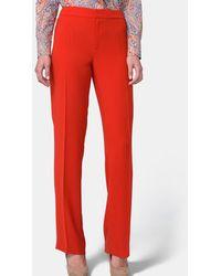 Mirto - Basic Straight Leg Trousers - Lyst