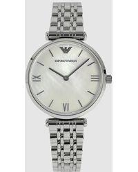 Emporio Armani - Ar1682 Gianni T-bar Watch - Lyst