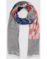 Gloria Ortiz - Natural Cotton Foulard With Print - Lyst