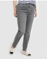 Couchel - Plus Size Five-pocket Skinny Jeans - Lyst