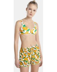 Green Coast - Beach Shorts With Bananas - Lyst