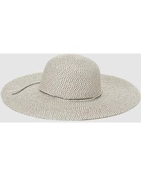 4e34c705 El Corte Inglés White Paper Hat With Adhesive Strap in White - Lyst