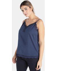Couchel | Plus Size Blue Camisole Top | Lyst