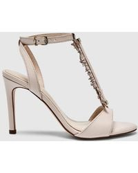 Martinelli - Latouche Pink Leather High-heel Sandals - Lyst