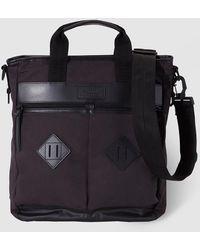 Polo Ralph Lauren - Mens Black Messenger Bag With Zip - Lyst