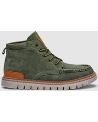Green Coast - Khaki Suede Boots - Lyst